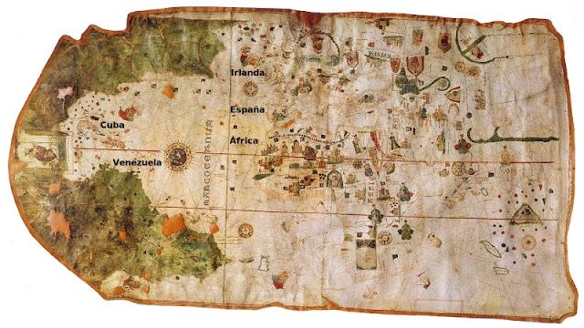 Primer Mapa de Veneçuela