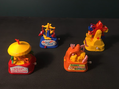 1980s Old Day Retro Clock Work Toys 3