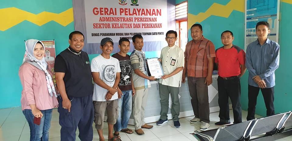 Pasca Launching, Gerai Administrasi Perizinan Sektor Kelautan dan Perikanan Sudah Terbitkan 80 Izin