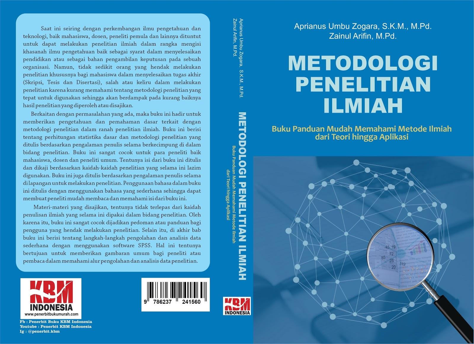 METODOLOGI PENELITIAN ILMIAH