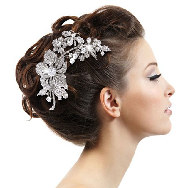 Wedding Hairstyles With Hair Jewelry: Wedding Hair Accessories