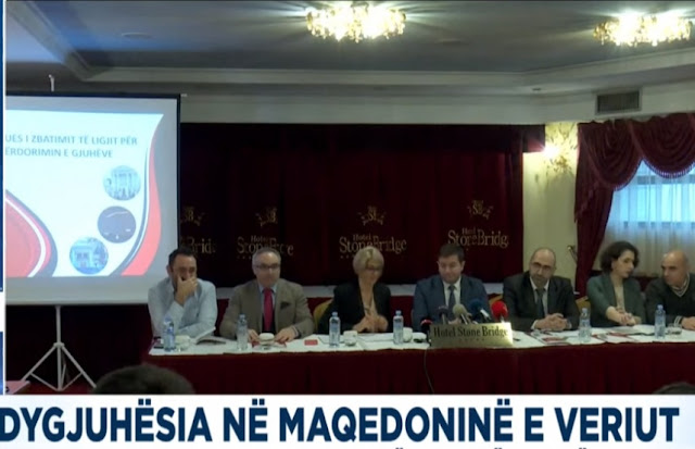 Bilingualism, 99% of institutions do not implement the Albanian language law in North Macedonia