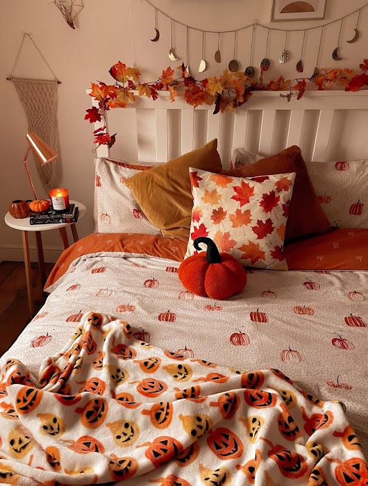 Autumn Fall Bedroom Decor Ideas