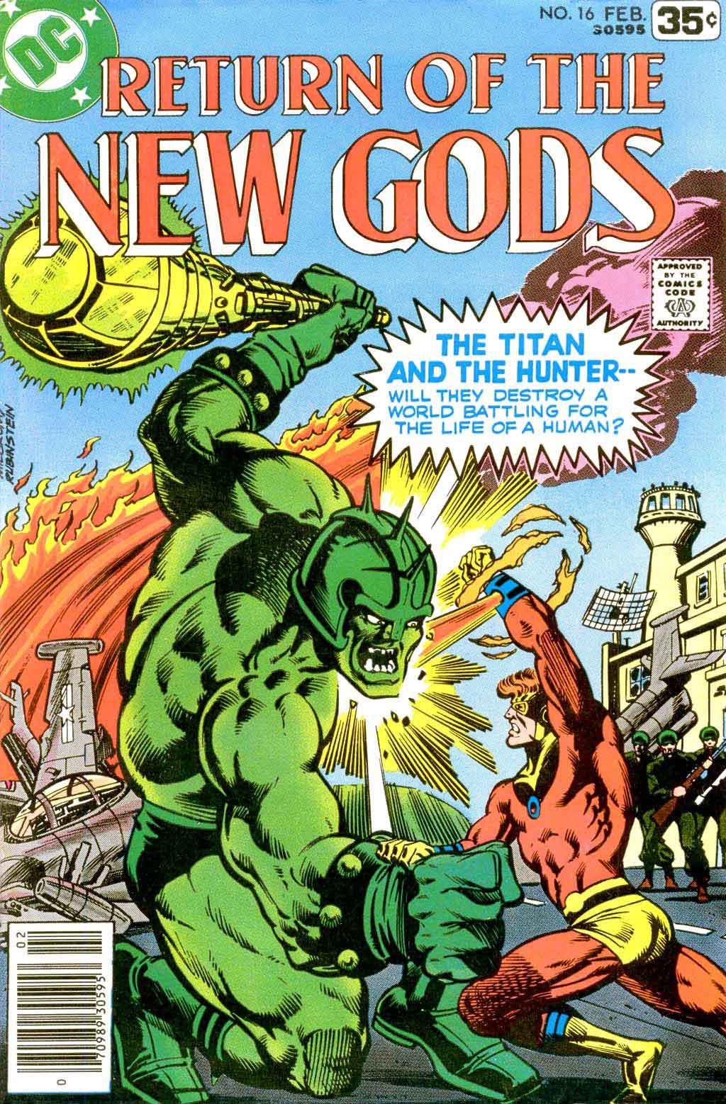 New Gods #16 - Don Newton art - Pencil Ink