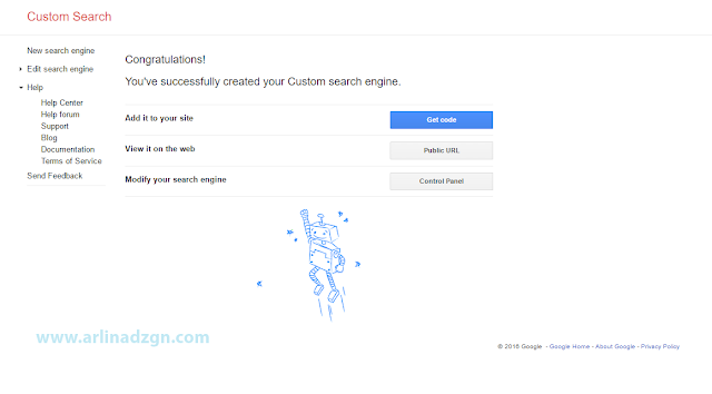 Memasang Google Custom Search Engine di Blog