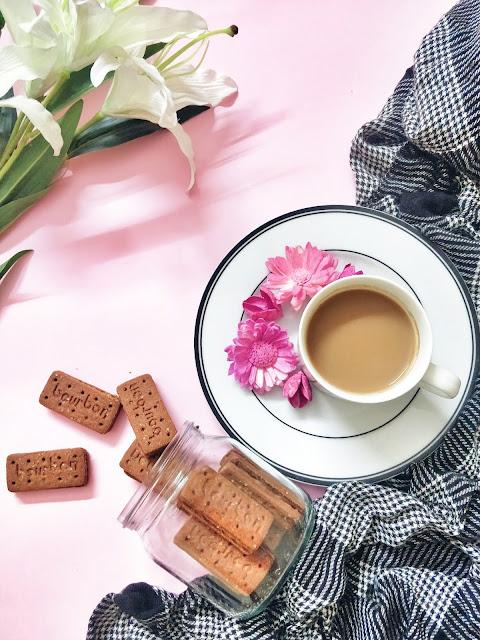tea flatlay photography StylePrism