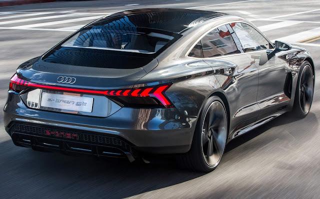 Tony Stark´s car - Audi e-Tron GT
