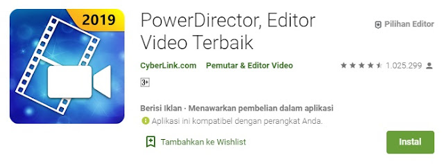 Aplikasi Power Director - Masbasyir