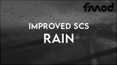 Peningkatan Hujan SCS | ETS2 1.40 - 1.41