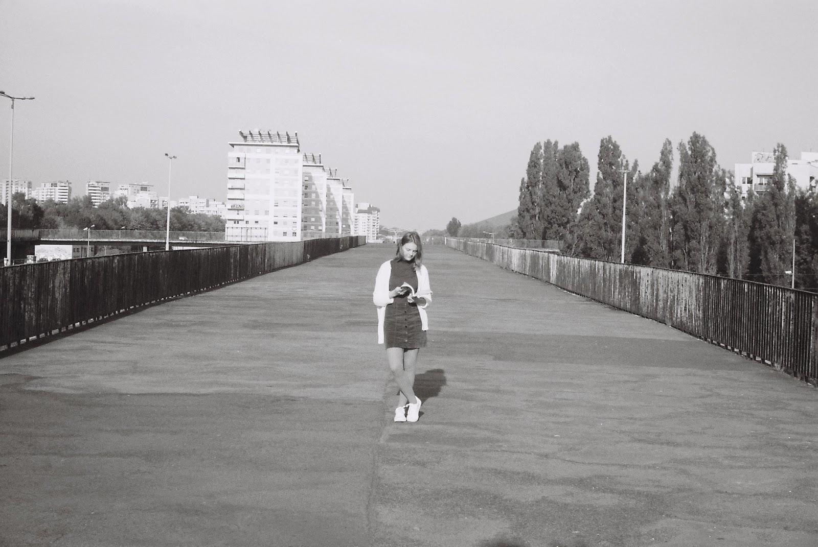 klisza czarno-biała
