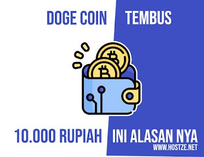 DOGE Coin Tembus Sampai 10.000 Rupiah! Ini Alasan Utama DOGE Coin Meroket - hostze.net