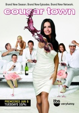 """Carátula del DVD: """"Cougar Town"""""""