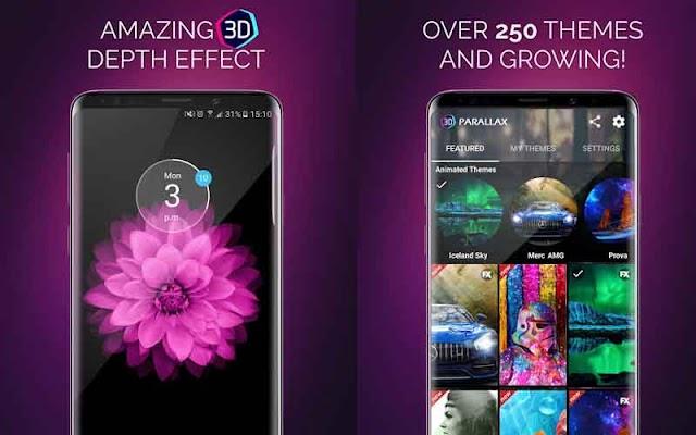 3D Parallax Background - Tạo hình nền 3D cho Android