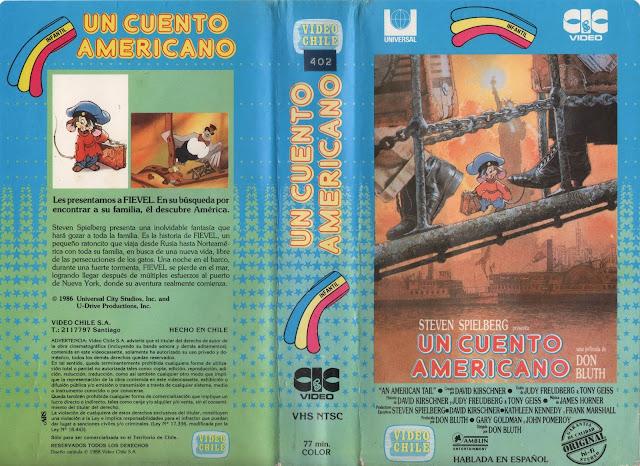 """Pelicula: """"Un Cuento Americano"""" (1986)"""