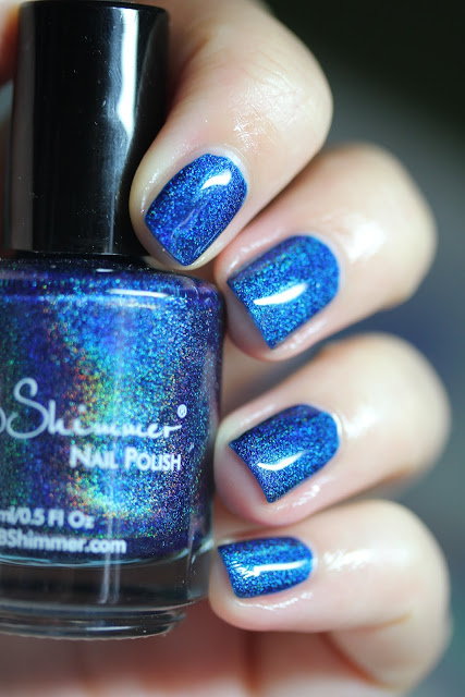 KBShimmer Shoe the Blues Away Hella Holo Customs