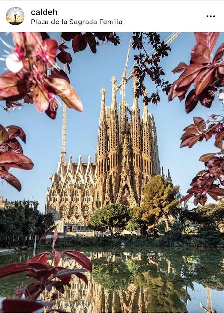 Sagrada Familia Barcellona foto