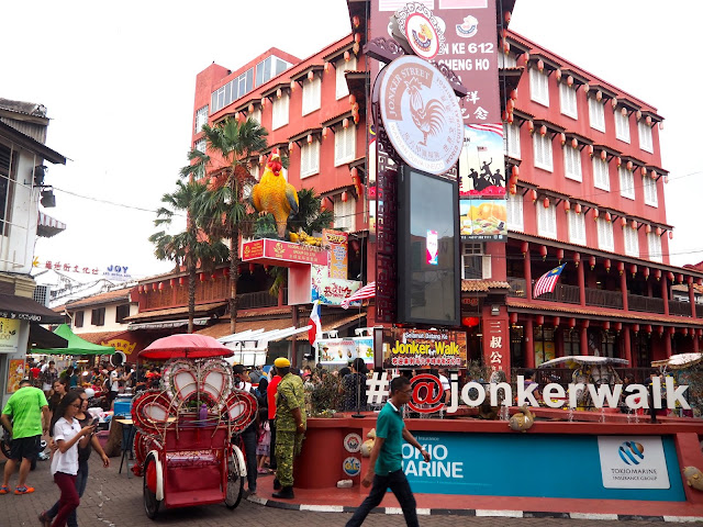 Jonker Walk, Melaka, Malaysia