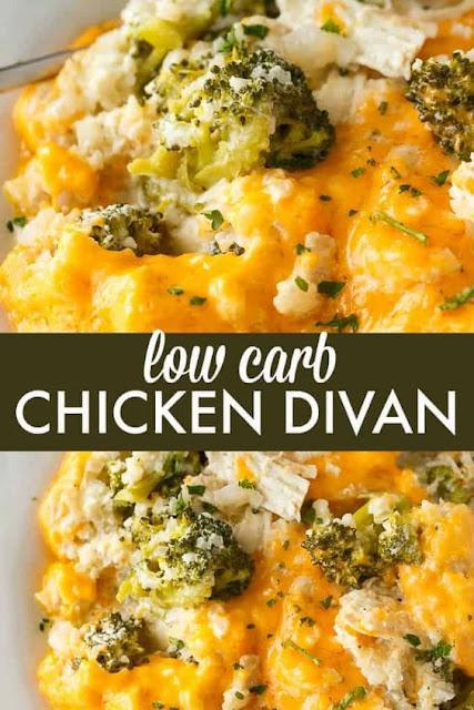 Low Carb Chicken Divan