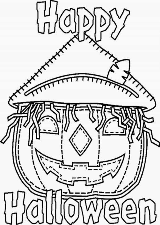 Halloween Coloring Pages Kids  Best Coloring Page Online
