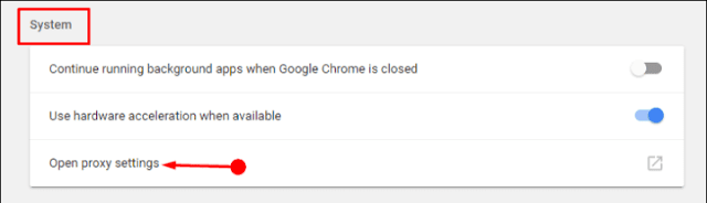 Workaround: Waiting for Proxy Tunnel in Chrome on Windows 10
