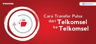 cara mudah transfer pulsa Telkomsel