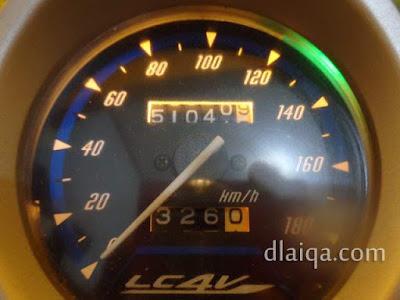 odometer 51.040 kilometer