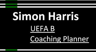ملخص دورة تدريبية للاتحاد الاوروبي لكرة القدم UEFA B coaching planner