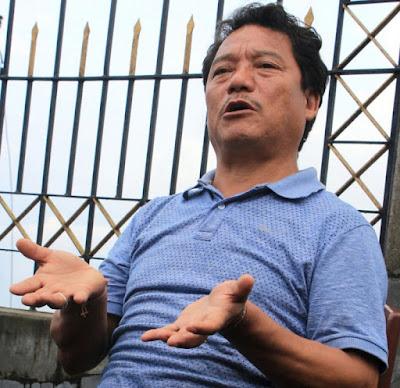 Gorkha Janmukti Morcha's Bimal Gurung