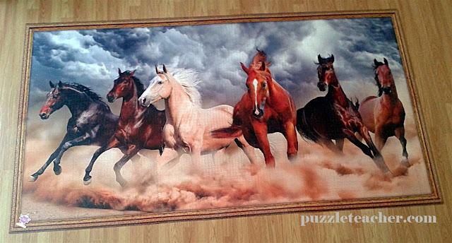 king of puzzle çöl atları 10000