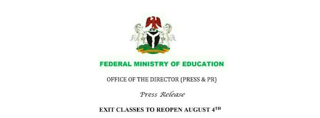 Federal Ministry of Education releases operational guidelines for Schools reopening
