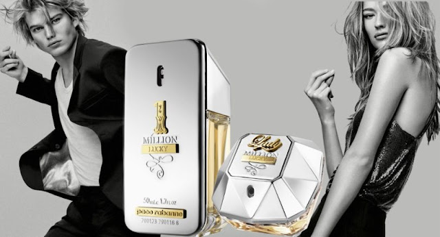 Reklama perfum Paco Rabanne Lady Million Lucky