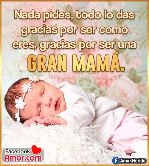 frases bonitas para gran mamá