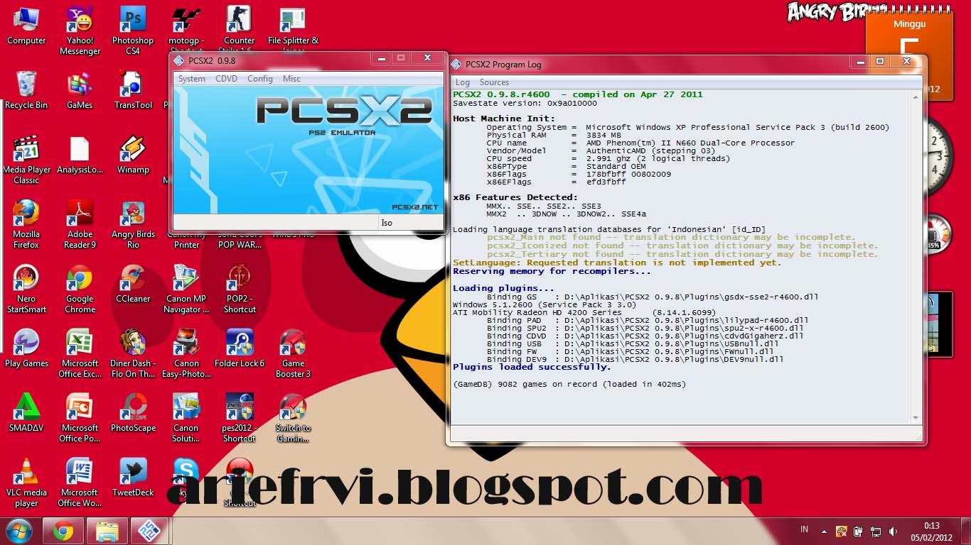 0.9.8+BIOS+PLUGINS TÉLÉCHARGER PCSX2