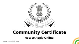 Community Certificate Details: How to Apply Online & Benefits