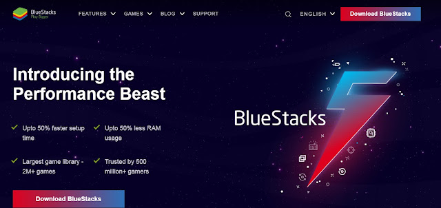 Download bluestacks 5 Offical Website
