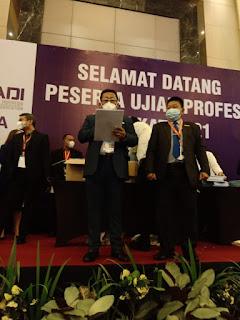 Peradi Gelar UPA Serentak di 44 Kota Se Indonesia  Diikuti 5833 Calon Advokat