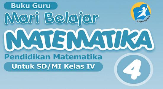Download Buku K13 Matematika Kelas 4 SD/MI