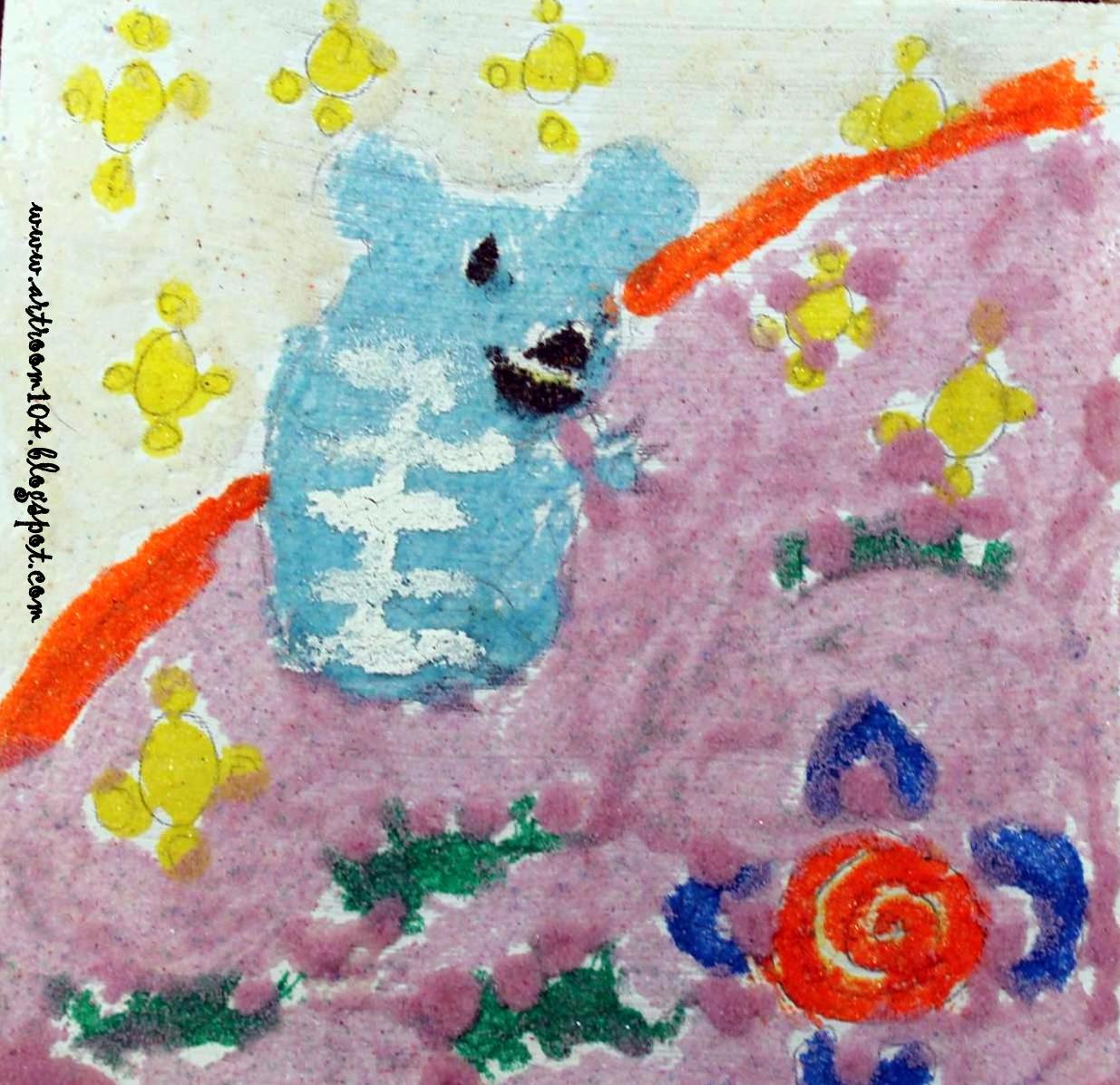 Art Room 104 6th Grade Aboriginal Sand Paintings