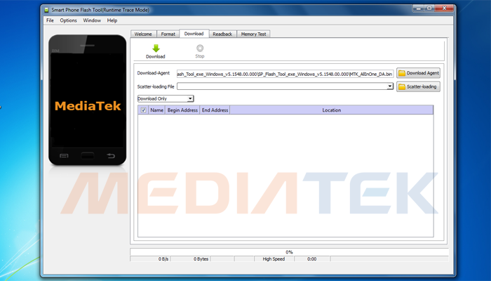 SP Flashtool Alat Flashing Untuk Prosesor Mediatek