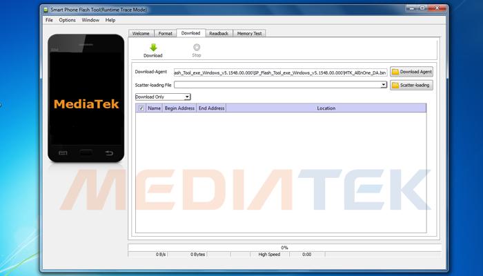 SP Flashtool Alat Flashing Untuk Prosesor Mediatek