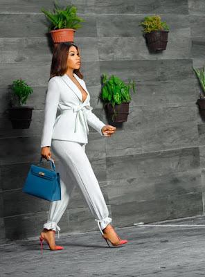 Mercy Eke Fashion and Style looks latest