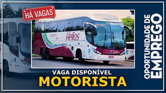 Helios Transportes abre vagas para Motorista categoria D