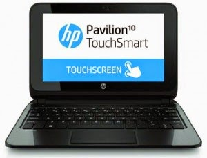 HP Pavilion Touchscreen Laptop – 10-e010nr 10,1 inci