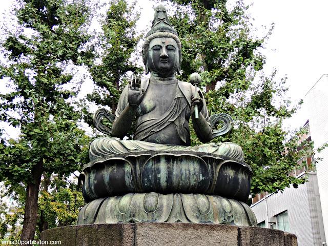 Estatua de Seishi en el Bentendo Hall del Templo Sensoji