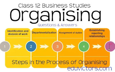CBSE Class 12 - Business Studies - Chapter: Organising (Questions and Answers)(#class12BusinessStudiess)(#eduvictors)(#cbsenotes)