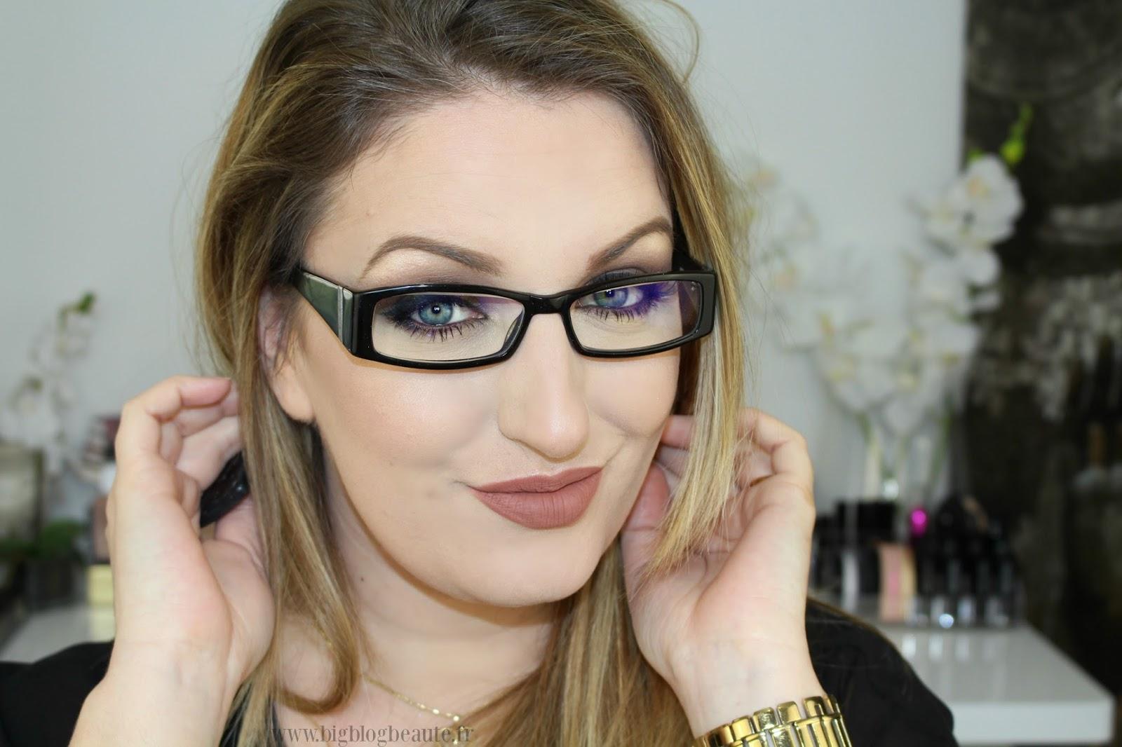 1dc8153d1e1278 Tutoriel maquillage spécial lunettes   Big Blog Beauté