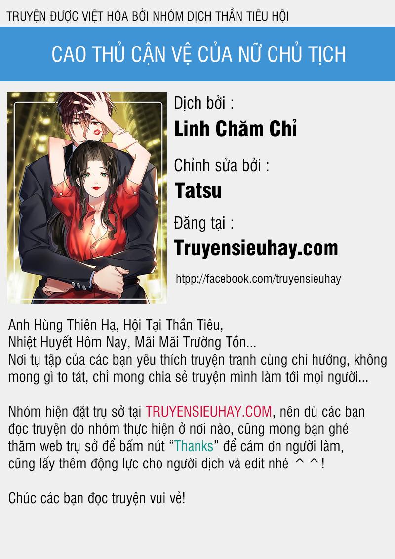 Cao Thủ Cận Vệ Của Nữ Chủ Tịch Chapter 29 video -