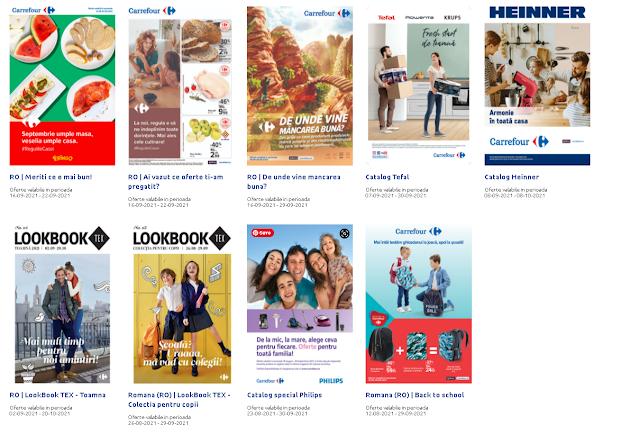 CARREFOUR Cataloage - Brosuri 16-22.09 2021 →  BACK to SCHOOL | Reducere la produsele preferate
