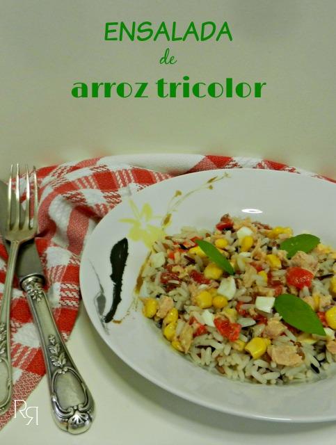 """""""Ensalada de arroz tricolor"""""""