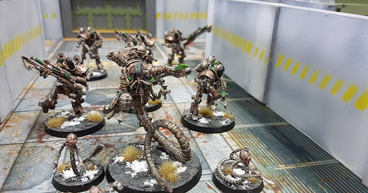 "Horus Heresy 30k Event Report ""Face of Oblivion"": Myrmidons and the Mad Magos march to war. Warning! Post may contain army pics galore!"
